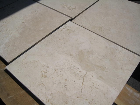 Sierra 16x16 Filled Honed Travertine