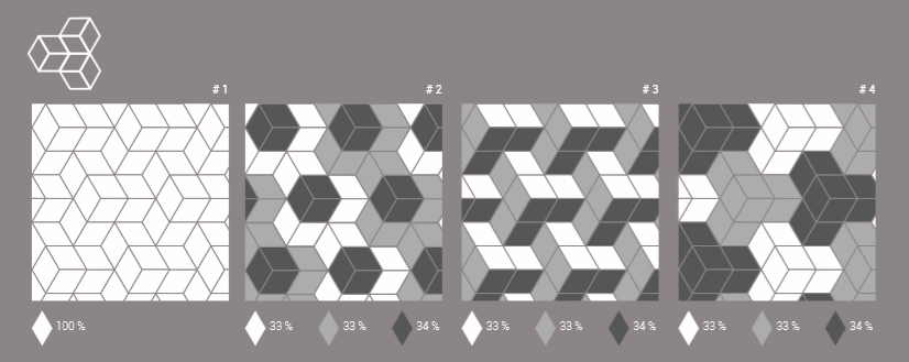 Porcelain Wall Tile 6 Quot X10 Quot Rhombus Light Grey